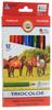 Koh-i-Noor Набор цветных карандашей Triocolor 12 цветов - изображение