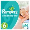 Pampers Active Baby Подгузники 6, 15+ кг, 16 шт - изображение