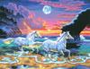 KSG Картина по номерам Бегущие лошади - изображение