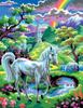 KSG Картина по номерам Единорог - изображение