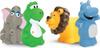 Lubby Набор игрушек для купания Африка от 12 месяцев 4 шт - изображение