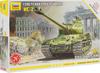 Звезда Сборная модель Тяжелый танк ИС-2 - изображение