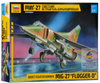 Звезда Сборная модель Советский истребитель-бомбардировщик МиГ-27 - изображение