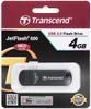 USB-накопитель Transcend JetFlash 600 4GB, черный - изображение