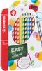 Карандаши цветные STABILO EASYcolors, для правшей, с точилкой, 12 цветов - изображение