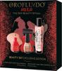 Подарочный набор Orofluido Beauty Set Exclusive Edition: Эликсир Asia 50 мл, Лак для ногтей ярко-красный цвет 15 мл, Лак для ногтей розовый блеск 15 мл - изображение