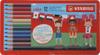 Карандаши цветные STABILO Color, 12 цветов, в металлическом футляре - изображение