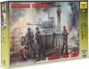 Звезда Сборная модель Немецкие танкисты 1943-1945 - изображение