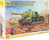 Звезда Сборная модель Истребитель танков ИСУ-152 Зверобой масштаб 1/72 - изображение