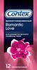 Contex Romantic Love Презервативы ароматизированные для романтического удовольствия, 12 шт - изображение
