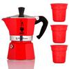 Гейзерная кофеварка Bialetti, на 3 чашек (120 мл) - изображение