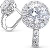 Серьги женские Акцент Бриллиант, серебро 925, 00000000026 - изображение