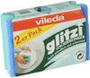Набор губок для мытья посуды Vileda Глитци, 2 шт - изображение