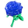 3d crystall puzzle. Роза. цвет синий - изображение