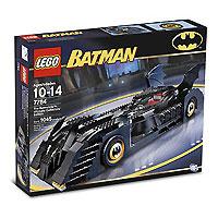 7784 Lego: Бэтмобиль #1