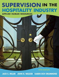 Supervision in the Hospitality Industry: Applied Human Resources #1