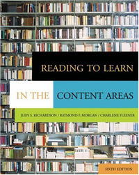 Reading to Learn in the Content Areas (with CD-ROM and InfoTrac ) #1