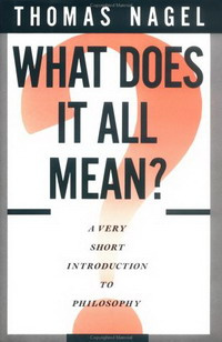 What Does It All Mean?: A Very Short Introduction to Philosophy #1