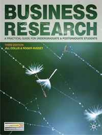 Business Research 3rd Edition: A Practical Guide for Undergraduate and Postgraduate Students (0) #1