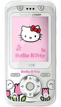 Sony Ericsson F305, Hello Kitty Edition #1
