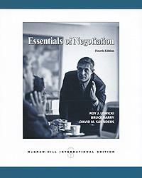 Essentials of Negotiation | Левицки Рой Дж., Сондерс Дэвид #1