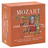 Mozart. 250th Anniversary Edition: Operas 1 (9 CD) #1