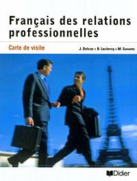 Carte de visite: Francais des relations professionnelles #1