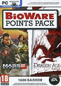 Карта оплаты BioWare Points Pack. Для Mass Effect 2 и Dragon Age: Начало (1600 баллов)  #1