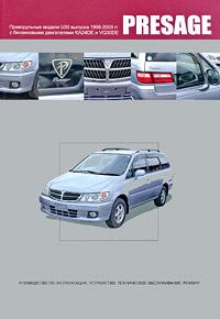 Nissan Presage. Праворульные модели U30 выпуска 1998-2003 гг. с бензиновыми двигателями KA24DE, VQ30DE. #1
