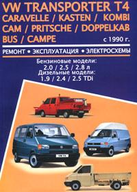 Volkswagen Transporter T4 / Caravelle / Kasten / Kombi / Cam / Pritsche / Doppelkab Bus / Campe с 1990 #1