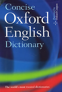 Concise Oxford English Dictionary #1