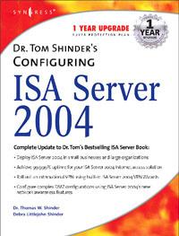 Dr. Tom Shinder's Configuring ISA Server 2004, #1