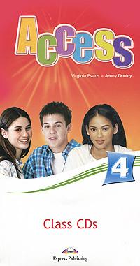 Access 4: Class CDs (аудиокурс на 5 CD) #1