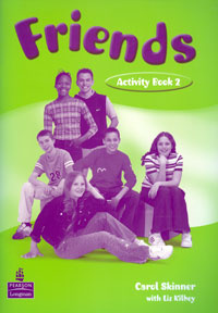 Friends 2: Activity Book | Kilbey Elizabeth, Скиннер Кэрол #1