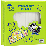 """Глина для моделирования """"Idigo"""" (Идиго), цвет: белый #1"""
