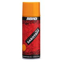 "Краска-спрей Abro ""Sabotage"", цвет: темно-желтый, 400 мл #1"