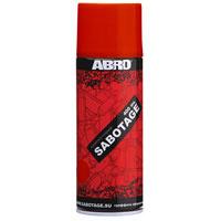 """Краска-спрей Abro """"Sabotage"""", цвет: темно-красный, 400 мл #1"""
