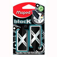 "Ластик Maped ""Pyramide"", цвет: черный, 2 шт #1"