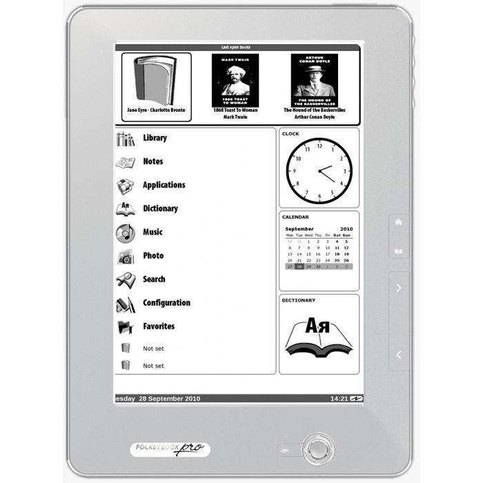 "Электронная книга Pocketbook PocketBook Pro 912 9.7"", Dark Silver #1"