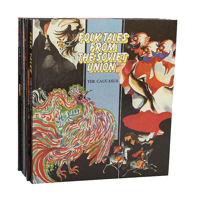 Folk tales from the Soviet Union (комплект из 5 книг)   Народное творчество  #1