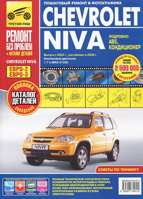 Chevrolet Niva. Выпуск с 2002 г. Руководство по эксплуатации, техническому обслуживанию и ремонту | Погребной #1