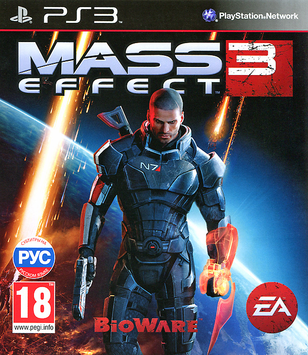 Игра Mass Effect 3 (PlayStation 3, Английский) #1