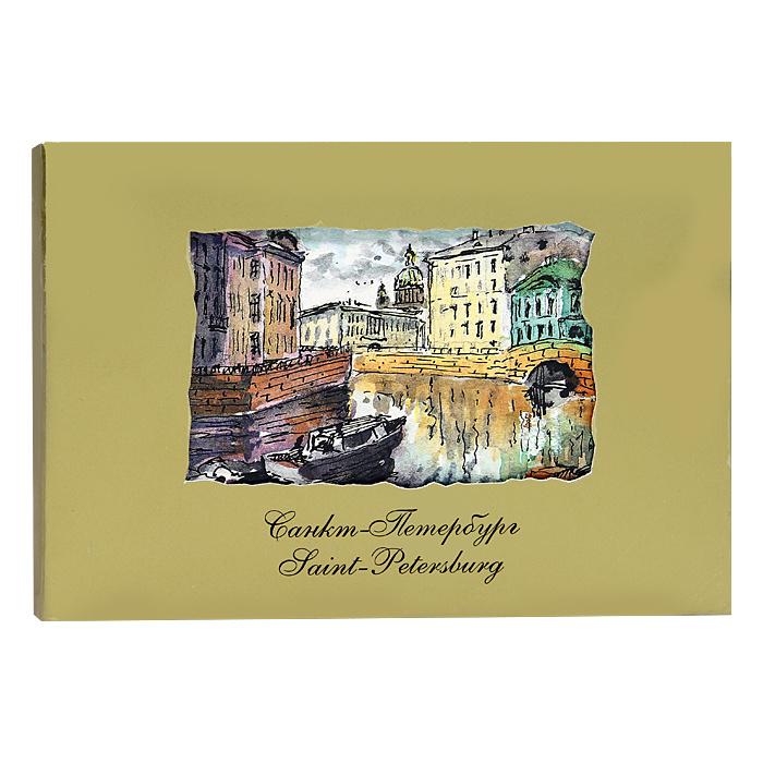 наборы открыток с санкт-петербургом желтых майках