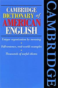Cambridge Dictionary of American English #1