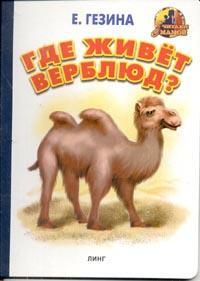 Где живет верблюд?: Стихи (худ. Вахтин В.) #1