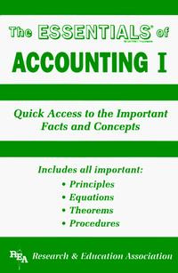 The Essentials of Accounting I (Essentials) #1