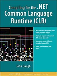 Compiling for the .NET Common Language Runtime   Гоух Джон #1