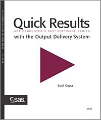 Quick Results with the Output Delivery System #1