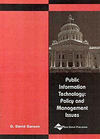 Public Information Technology: Policy and Management Issues #1