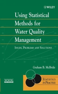 Using Statistical Methods for Water Quality Management : Issues, Problems, and Solutions #1